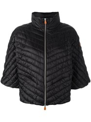 Save The Duck Puffer Jacket Black