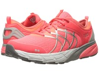 Ryka Nalu Coral Rose Fusion Coral Chrome Silver Women's Shoes Pink