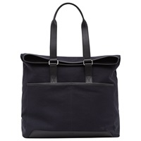 Reiss Trapper Canvas Tote Bag Navy