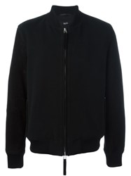 Blood Brother Classic Bomber Jacket Black