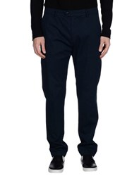 Seventy By Sergio Tegon Trousers Casual Trousers Men Dark Blue