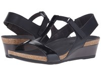 Naot Footwear Unicorn Black Raven Leather Black Luster Leather Women's Sandals