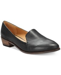 Kelsi Dagger Victory Flats Women's Shoes Black Leather