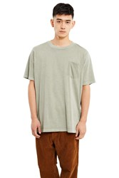 Alexander Wang Short Sleeve T Shirt Army Green
