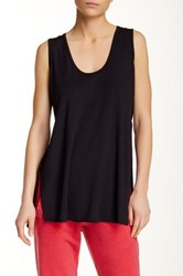 Central Park West The Bray Sleeveless Tee Black
