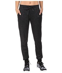 Adidas Team Issue Fleece Jogger Pants Utility Black Heather Women's Workout