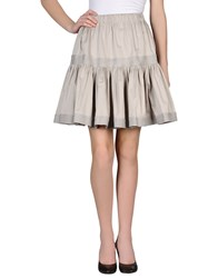 Y 3 Skirts Knee Length Skirts Women Light Grey