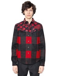 Valentino Plaid Jacquard Wool Mohair Jacket