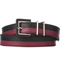 Lk Bennett Gena Skinny Leather Belt Mul Mulberry