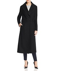 Basler Long Double Breasted Coat Black