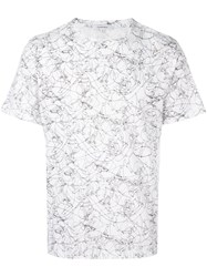 Carven All Over Print T Shirt White