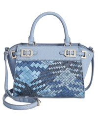 Nine West Gleam Mini Satchel Blue