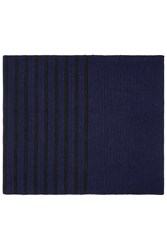 Broadwick Scarf By Unique Navy Blue