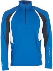 Galvin Green Donald Insula Half Zip Jumper Blue