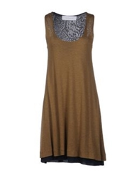 Cacharel Short Dresses Brown
