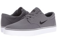Nike Clutch Dark Grey Black White Men's Skate Shoes Gray