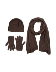 Armani Collezioni Accessories Hats Women Dark Brown