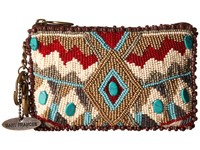 Mary Frances Turquoise Power Coin Purse Multi Coin Purse