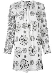 Ann Demeulemeester 'Emma' Embroidered Tunic