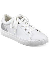 Guess Women's Jollie Lace Up Sneakers Women's Shoes White