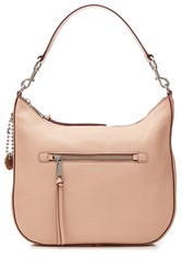 Marc Jacobs Recruit Leather Hobo Tote Rose