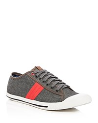 Ben Sherman Chambray Sneakers Compare At 85 Gray