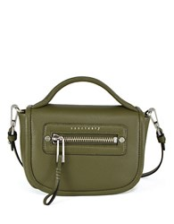 Sanctuary Leather Crossbody Bag Green