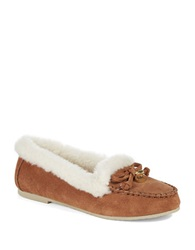 Michael Michael Kors Cori Moccasin Slippers Brown