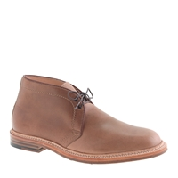 Alden For J.Crew Chukka Boots In Natural Horween Chromexcel Leather Natural Chromexcel