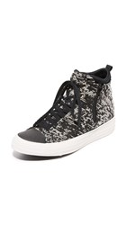 Converse Chuck Taylor All Star Selene High Top Sneakers Black Light Gold Egret