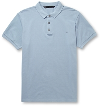 Marc By Marc Jacobs Cotton Pique Polo Shirt Blue