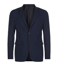 Solid Homme Tailored Blazer Male Navy