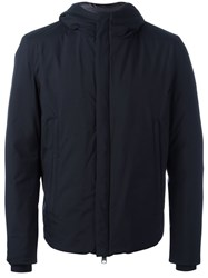 Herno Hooded Padded Jacket Black