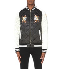 Billionaire Boys Club Vegas Quilted Jacket Black Off White