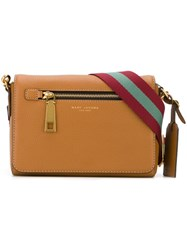 Marc Jacobs Small 'Gotham' Crossbody Bag Brown