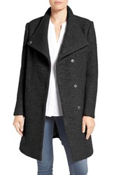 Kenneth Cole Women's New York Pressed Boucle Coat