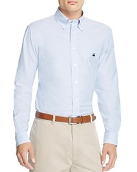 Brooks Brothers Regent Oxford Slim Fit Button Down Shirt Light Blue