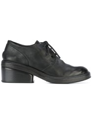 Marsell Heeled Lace Up Shoes Black