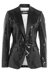 Dsquared2 Sequin Blazer Black