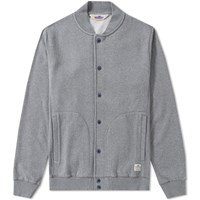 Penfield Massac Jersey Bomber Grey