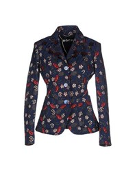 Rochas Suits And Jackets Blazers Women Blue