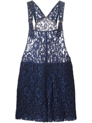 Msgm Lace Playsuit