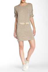 Shades Of Grey Judo Belt Bag Dress Beige