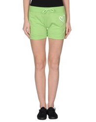 Sweet Years Sweat Shorts Acid Green