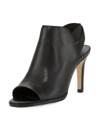 Sesto Meucci Barkley Leather High Heel Sandal Black