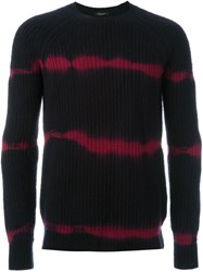 Roberto Collina Striped Jumper Black