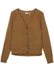 Fat Face Kittle Cardigan Sandy Taupe