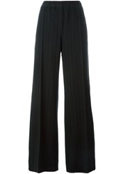 Odeeh Pin Stripe Trousers Black