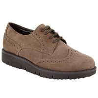 John Lewis Designed For Comfort Fawn Brogues Brown