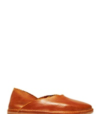 Petrucha Studio Petrucha 04 Patti Slip On Leather Shoes Brown